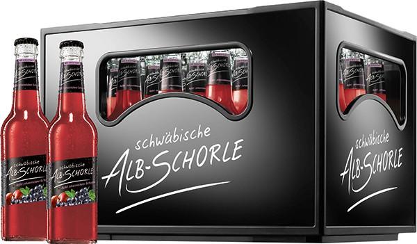Zwiefalter Alb-Schorle Apfel-Johannisbeere 24x0,33 L