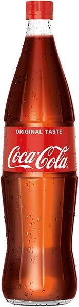 Coca Cola 6x1,0 L Glas