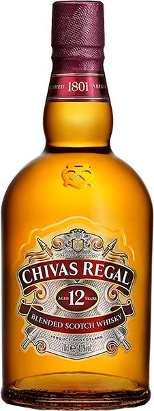 Chivas Regal 12 Years Blended Whiskey 0,7 L