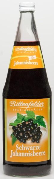 Bittenfelder Schwarze Johannisbeere Nektar 6x1,0 L