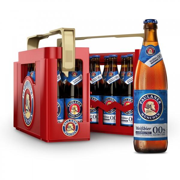 Paulaner Hefe Weißbier alkoholfrei 0,0% 20x0,5 L