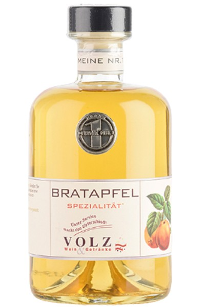 Volz Bratapfel-Likör 32% 0,5 l