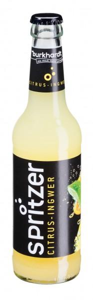 Burkhardt Spritzer Citrus Ingwer 12x0,33 L