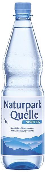 Naturparkquelle Spritzig 12x1,0 L