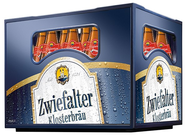 Zwiefalter Hefeweizen alkoholfrei 20x0,5 L