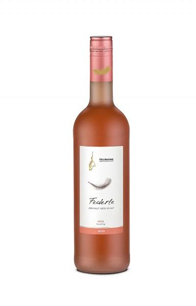 Fellbacher Weingärtner Federle Rose fruchtig 0,75l
