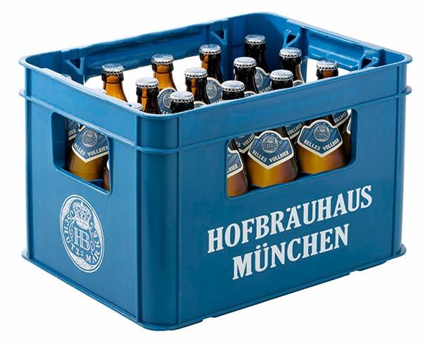 HB München helles Vollbier 20x0,5