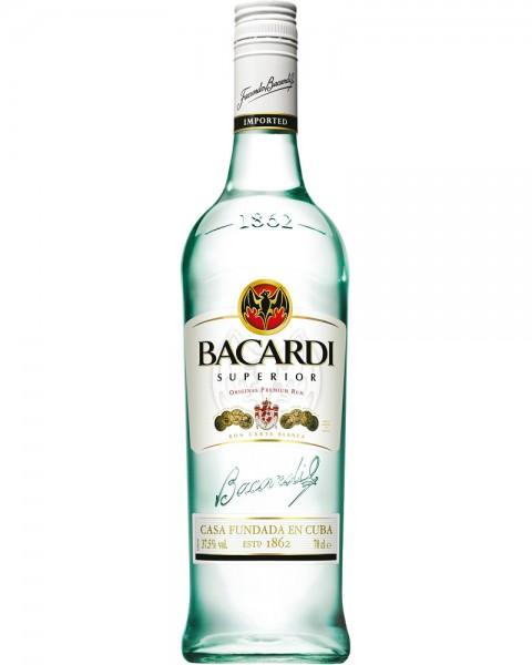 Bacardi Carta Blanca Rum 0,7 L