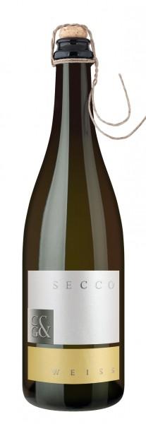 Cleebronner Secco weiß, Qualitätsperlwein trocken 0,75 l