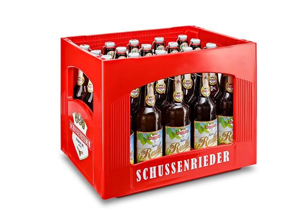 Schussenrieder Natur Radler Bügel 20x0,5 l
