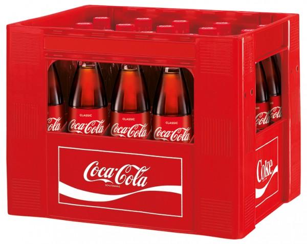 Coca Cola 20x0,5 L Glas