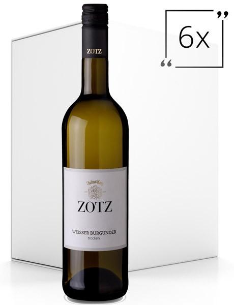Zotz Weisser Burgunder trocken 6x0,75 l