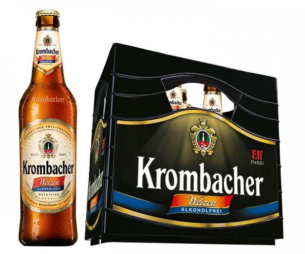 Krombacher Hefe alkoholfrei 11x0,5 L