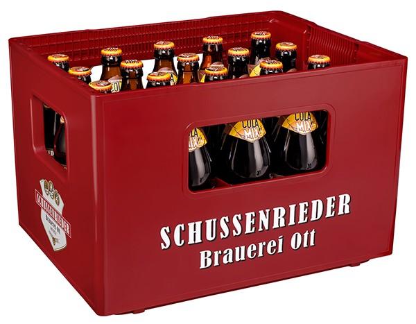 Schussenrieder Cola-Mix 20x0,5 l