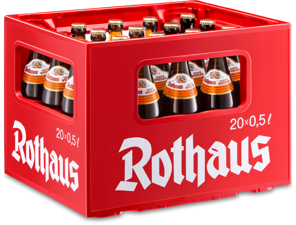 Rothaus Hefeweizen 20x0,5 L