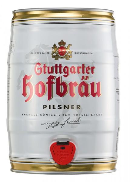 Stuttgarter Hofbräu Pilsner Partydose 5 l