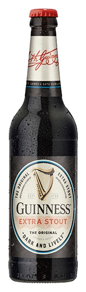 Guiness extra stout 6x0,33 L