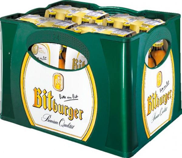 Bitburger 0,0% alkoholfreies Pils 24/0,33 L