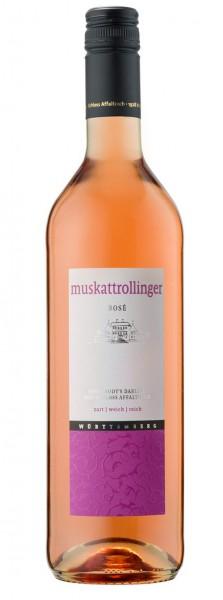 Schloss Affaltrach Muskattrollinger Rose 0,75l