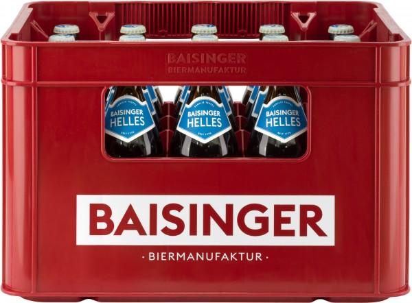 Baisinger BierManufaktur Helles 20x0,5 L