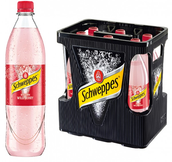 Schweppes Wild Berry 6x1,0 L