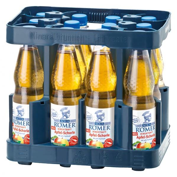 Aqua Römer Direktsaft Apfel-Schorle 12x0,5 L