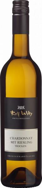 Rolf-Willy Chardonnay mit Riesling trocken QbA 0,75 l