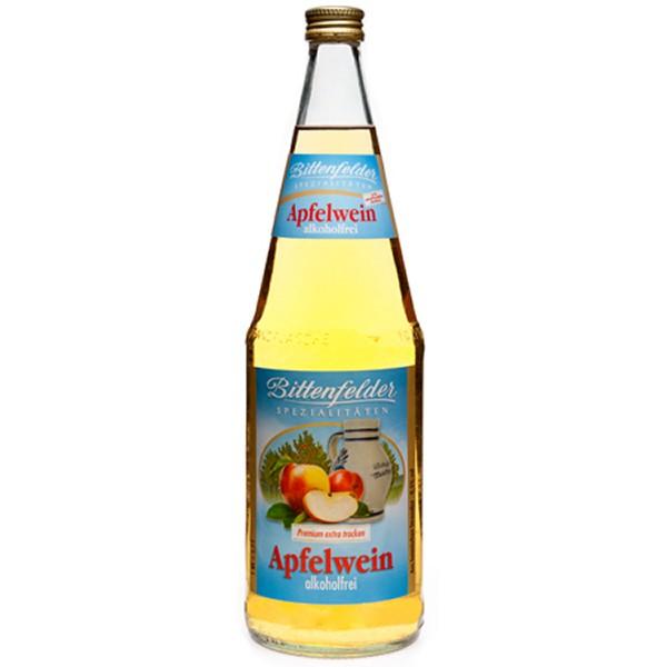 Bittenfelder Apfelwein alkoholfrei trocken 6x1,0 L
