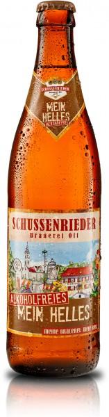 Schussenrieder Mein Helles Alkoholfrei 20x0,5 l