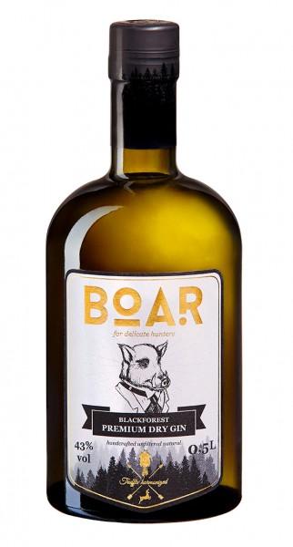 Boar Blackforest Premium Dry Gin 0,5 L