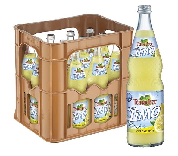 Teinacher Light Zitrone trüb 12x0,7 L