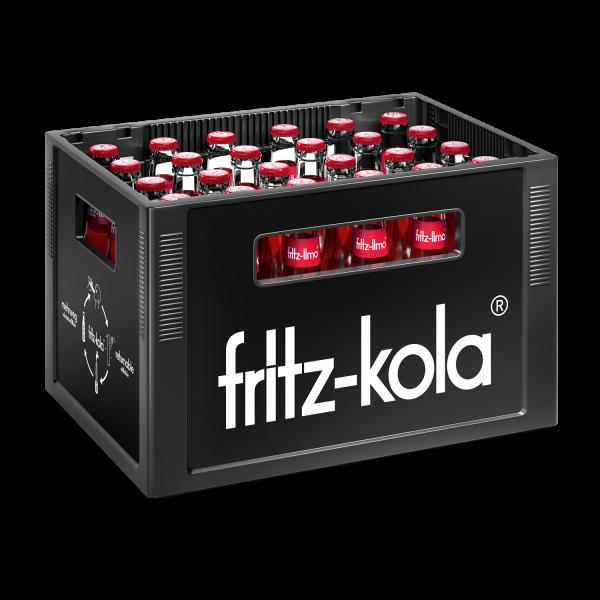Fritz-Limo Apfel-Kirsch-Holunder 24x0,33 L