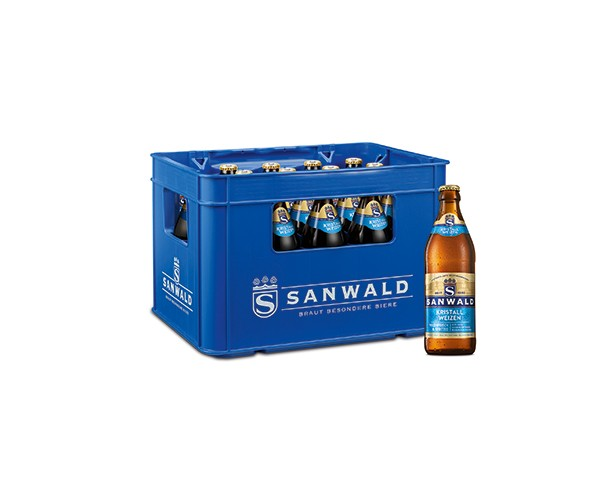 Sanwald Weizen Kristall 20x0,5