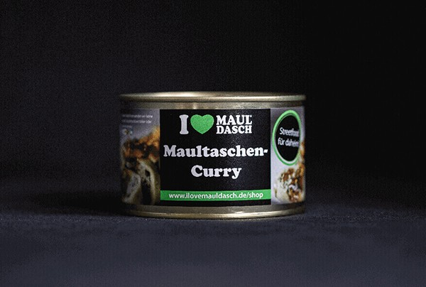 I love Mauldasch Maultaschen-Curry 400 g