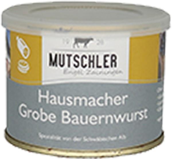 Mutschler Hausmacher Grobe Bauernbratwurst 190g