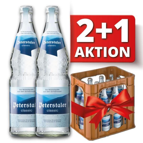 Peterstaler Classic 2+1 Aktion 3x12x0,7 l