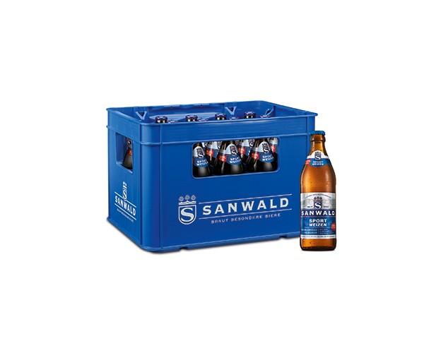 Sanwald Sport Weizen 0,0% 20x0,5 l