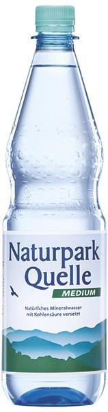 Naturparkquelle Medium 12x1,0 L