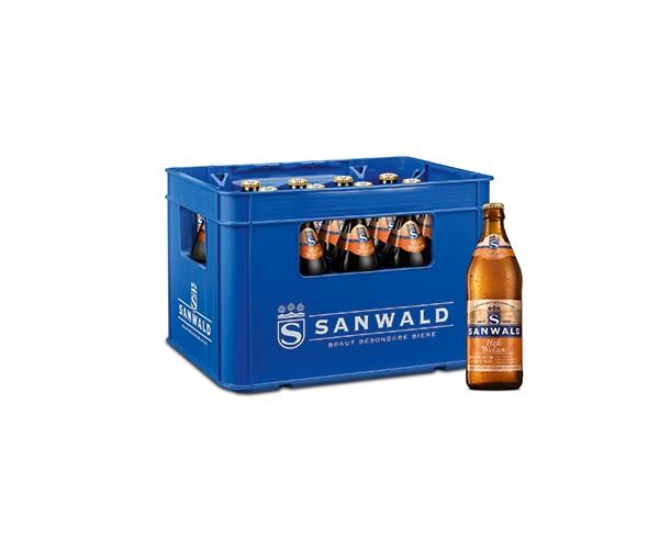 Sanwald Weizen Hefe hell 20x0,5 l