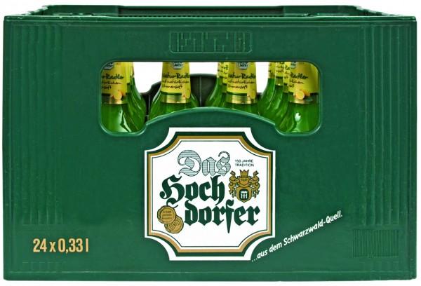 Hochdorfer Kronenbrauerei NaturRadler alkoholfrei 24x0,33 L