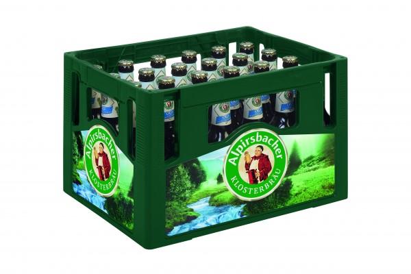 Alpirsbacher Klosterbräu Alkoholfrei 0,0% 24x0,33 L