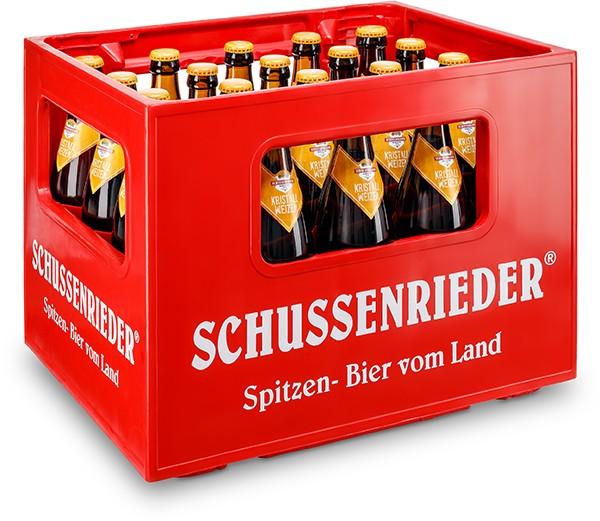 Schussenrieder Kristall-Weizen 20x05 l