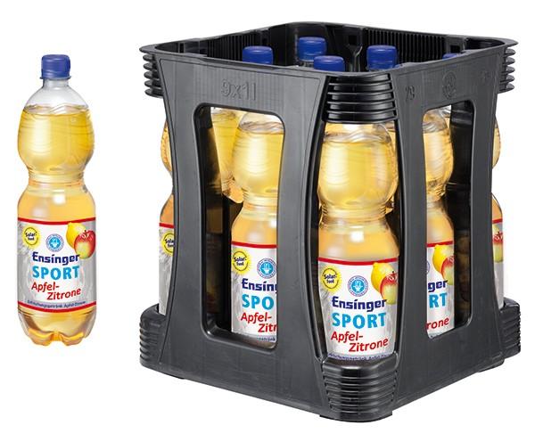 Ensinger Sport Apfel-Zitrone 9x1 L