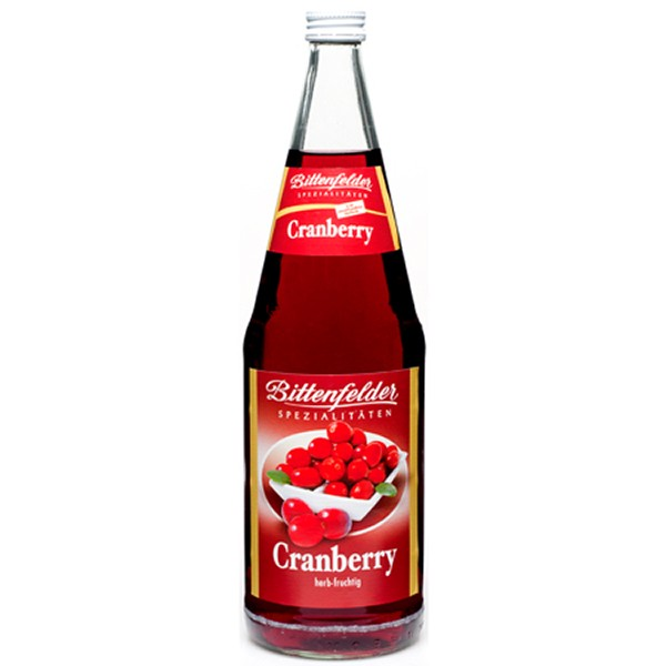 Bittenfelder Cranberry Nektar 6x1,0 L
