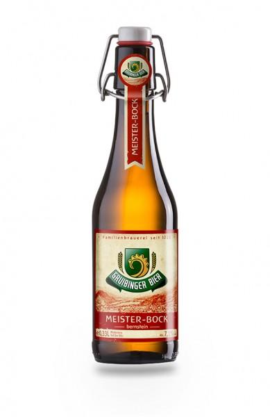 Gruibinger Meisterbock 20x0,33 L