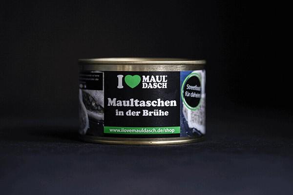 I love Mauldasch Maultaschen in der Brühe 400 g
