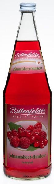 Bittenfelder Johannisbeer-Himbeer Nektar 6x1,0 L