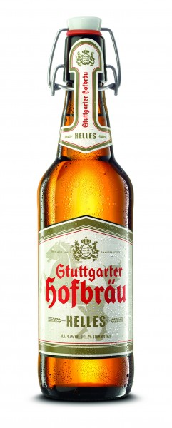 Stuttgarter Hofbräu Helles Bügel 20x0,5 L
