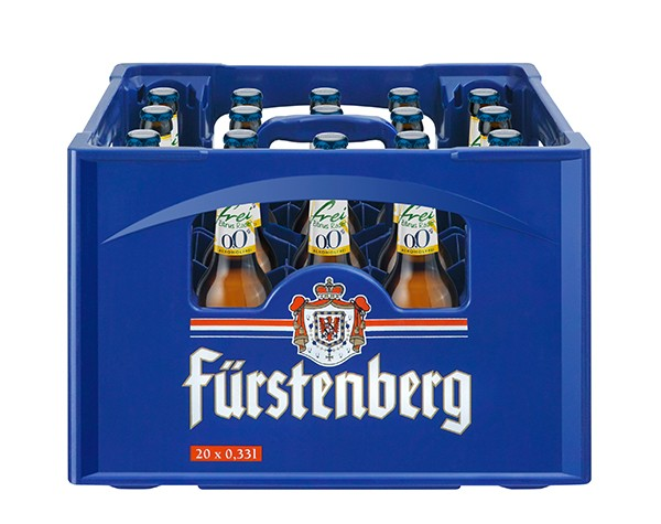 Fürstenberg Zitrus Radler frei 0,0% 20x0,33 L