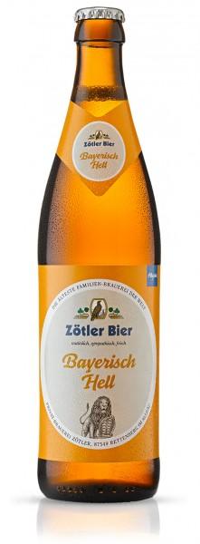 Zötler Bayrisch Hell 20x0,5 l
